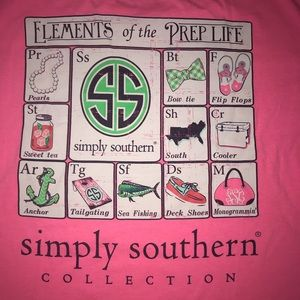 Simply Southern elements of the prep life size M